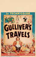 "Movie Posters:Animated, Gulliver's Travels (Paramount, 1939). Window Card (14"" X 22""). MaxFleischer produced, and Dave Fleischer directed this feat..."