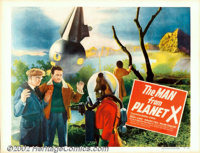 "Man from Planet X (United Artists, 1951). Half Sheet (22"" X 28"") Style A. Edgar Ulmer's low-budget sci-fi thri..."