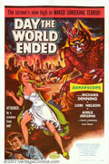 """Movie Posters:Science Fiction, Day the World Ended (American Releasing Corp., 1956). One Sheet (27"""" X 41""""). This film was Roger Corman's first try at scien..."""