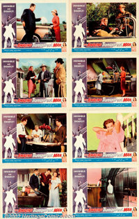 """Amazing Transparent Man (Miller-Consolidated Pictures, 1959). Lobby Card Set (11"""" X 14""""). This sci-fi piece di..."""