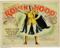 "Movie Posters:Adventure, Adventures of Robin Hood (Warner Brothers, 1938). Partial LobbyCard Set (11"" X 14""). Marvelous Hollywood realization of the..."