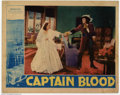 "Movie Posters:Adventure, Captain Blood (Warner Brothers, 1935). Partial Lobby Card Set (11""X 14""). Errol Flynn plays Peter Blood, a physician who is..."