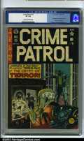 Golden Age (1938-1955):Crime, Crime Patrol #15 (EC, 1950) CGC VF 8.0 Cream to off-white pages. The first appearance of the Crypt Keeper and Crypt of Terro...