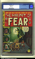 Golden Age (1938-1955):Horror, The Haunt of Fear #7 (EC, 1951) CGC NM 9.4 Cream to off-whitepages. EC was known for its gruesome and horrific art, and th...