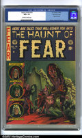 Golden Age (1938-1955):Horror, The Haunt of Fear #14 Gaines File pedigree 7/12 (EC, 1952) CGC NM+9.6 Off-white to white pages. Graham Ingels liked to sign...