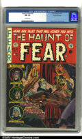 "Golden Age (1938-1955):Horror, The Haunt of Fear #15 Gaines File pedigree 7/12 (EC, 1952) CGC NM9.4 Off-white pages. ""Ghastly"" Graham Ingels delivers a sh..."