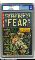 Golden Age (1938-1955):Horror, The Haunt of Fear #16 Gaines File pedigree 7/11 (EC, 1952) CGC NM9.4 Off-white to white pages. This is exactly the kind of ...