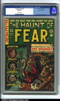 Golden Age (1938-1955):Horror, The Haunt of Fear #18 Gaines File pedigree 8/12 (EC, 1953) CGC NM9.4 Off-white pages. Graham Ingels, whom some consider the...