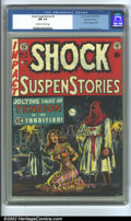 Golden Age (1938-1955):Horror, Shock SuspenStories #6 Gaines File pedigree 9/12 (EC, 1952) CGC NM9.4 Off-white to white pages. Arguably one of the most fa...