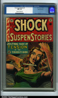 Golden Age (1938-1955):Horror, Shock SuspenStories #8 Gaines File pedigree 9/12 (EC, 1953) CGC NM+9.6 Off-white to white pages. An intense Al Feldstein c...