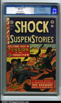 Golden Age (1938-1955):Horror, Shock SuspenStories #9 Gaines File pedigree 8/11 (EC, 1953) CGC NM+9.6 Off-white to white pages. With a Ray Bradbury story ...