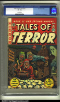 Golden Age (1938-1955):Horror, Tales of Terror Annual #2 (EC, 1952) CGC VF- 7.5 Off-white pages.These annuals were actually created with remaindered ECs t...