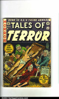 Golden Age (1938-1955):Horror, Tales of Terror Annual #3 (EC, 1953) Condition: GD A fantastic AlFeldstein torture cover adorns this scarce EC annual. Not...