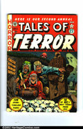 Golden Age (1938-1955):Horror, Tales of Terror Annual lot (EC, 1952-53). These are the rare 1952and 1953 annuals. 1952 is VG with one small piece of tape,...(Total: 2 Comic Books Item)