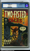 Golden Age (1938-1955):War, Two-Fisted Tales #22 Gaines File pedigree 7/10 (EC, 1951) CGC NM/MT 9.8 Off-white to white pages. This copy is a drop dead k...