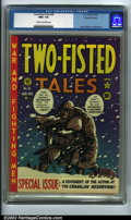 Golden Age (1938-1955):War, Two-Fisted Tales #26 Gaines File pedigree 7/10 (EC, 1952) CGC NM+ 9.6 Cream to off-white pages. This issue documents the ac...