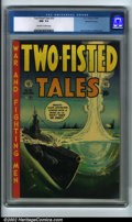 Golden Age (1938-1955):War, Two-Fisted Tales #32 Gaines File pedigree 6/9 (EC, 1953) CGC NM- 9.2 Off-white to white pages. Yamato Class Destroyer coming...
