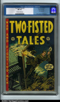Golden Age (1938-1955):War, Two-Fisted Tales #33 Gaines File pedigree 9/12 (EC, 1953) CGC NM 9.4 Off-white to white pages. This is a beautiful copy of a...