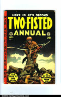 Golden Age (1938-1955):War, Two-Fisted Tales Annual lot (EC, 1952-1953). Produced forremaindered copies of actual issues, the Annuals have always been... (Total: 2 Comic Books Item)