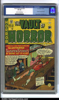 Golden Age (1938-1955):Horror, Vault of Horror #12 (EC, 1950) CGC VF 8.0 Cream to off-white pages.You want the best horror book out there? This is it. The...