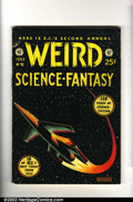 Golden Age (1938-1955):Science Fiction, Weird Science-Fantasy Annual group (EC, 1952-1953) VG Off-whitepages. Both the 1952 and 1953 Annuals in Very Good condition...
