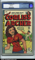 Golden Age (1938-1955):Humor, Meet Corliss Archer #1 (Fox, 1948) CGC VF/NM 9.0 Off-white to white pages. Al Feldstein would find greater fame in a couple ...