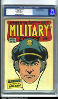 Golden Age (1938-1955):War, Military Comics #38 Mile High pedigree (Quality, 1945) CGC VF+ 8.5 Off-white to white pages. This is a truly stunning exampl...