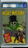 Golden Age (1938-1955):Horror, Night of Mystery #nn (Avon, 1953) CGC FN 6.0 Cream to off-whitepages. Featuring an interesting Hollingsworth cover, this co...