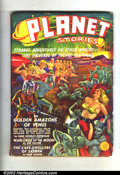 Pulps:Science Fiction, Planet Stories #1 (Fiction House, 1939) Condition: FN- (pulp grade)Off-white to light tan pages. Here is the incredible Vol...