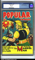 Golden Age (1938-1955):Adventure, Popular Comics #57 Mile High pedigree (Dell, 1940) CGC NM- 9.2 Off-white pages. Yet another (insert most any superlative adj...