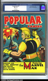 Popular Comics #57 Mile High pedigree (Dell, 1940) CGC NM- 9.2 Off-white pages. Yet another (insert most any superlative...
