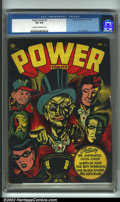 Golden Age (1938-1955):Adventure, Power Comics #3 (Holyoke Publications, 1944) CGC VG 4.0 Cream to off-white pages. Of Power's four issues, this classic L...