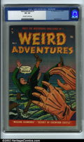 "Golden Age (1938-1955):Horror, Weird Adventures #1 (P.L. Publishing Co., 1951) CGC VF+ 8.5Off-white to white pages. If you look up the word ""esoteric"" in ..."
