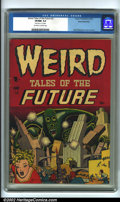 Golden Age (1938-1955):Science Fiction, Weird Tales of the Future #2 White Mountain pedigree (Aragon, 1952)CGC VF/NM 9.0 Off-white to white pages. One of Basil Wol...