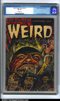 Golden Age (1938-1955):Horror, Weird Tales of the Future #7 (Aragon, 1953) CGC FN- 5.5 Off-whitepages. Pre-code horror books like this one are proving to ...
