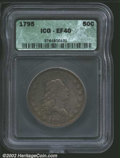 "Early Half Dollars: , 1795 50C XF40 ICG. The latest Coin World ""Trends"" price is $..."
