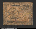 Colonial Notes:Continental Congress Issues, May 10, 1775, $5, Continental Congress Issue, CC-5, XF. ...