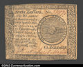 Colonial Notes:Continental Congress Issues, September 26, 1778, $60, Continental Congress Issue, CC-86, AU....