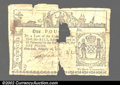 Colonial Notes:New York, February 16, 1771, 1pound, New York, NY-163, Fine. This is a ...