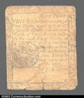 Colonial Notes:Pennsylvania, April 10, 1777, 4d A, Pennsylvania, PA-210, VG-Fine. This ...