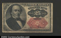 Fractional Currency:Fifth Issue, Fifth Issue 25c, Fr-1309, Fine. Walker note with long key. ...