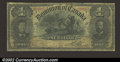 Canadian Currency: , Canada 1898 $1, VG. There is a minor tear at the top edge that ...