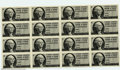 Miscellaneous:Other, Federal Gasoline Ration Coupons, printed in 1974, an uncut ...