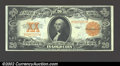 Large Size:Gold Certificates, 1922 $20 Gold Certificate, Fr-1187, XF. ...