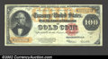 Large Size:Gold Certificates, 1922 $100 Gold Certificate, Fr-1215, VF-XF. A nice circulated ...