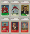 Football Cards:Sets, 1960-1963 Fleer Football Complete and Partial Sets Run. Fleer's football card issues from the early 1960's offer a glimpse o...