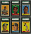 "Baseball Cards:Sets, 1958 Topps Baseball Near Complete Set (492/494). The 1958 Toppsbaseball series consists of 494 cards and included ""All-Star..."
