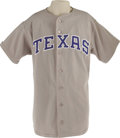 Baseball Collectibles:Uniforms, Circa 1989 Nolan Ryan Game Worn Jersey. Hall of Fame gamer from the undisputed Strike Out King derives from the personal co...