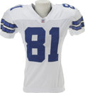 Football Collectibles:Uniforms, 2006 Terrell Owens Game Worn Jersey. T.O. went for eighty-four yards on eight receptions at the Meadowlands in a twenty-thr...