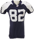 Football Collectibles:Uniforms, 2006 Jason Witten Game Worn Throwback Uniform. The rough life of an NFL tight end is evident in the punishing wear found on...